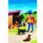 Playmobil 5125 : Chiens et fermier