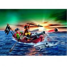 Playmobil 5137 : Barque des pirates avec requin-marteau