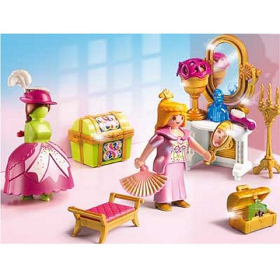 playmobil 5148 salon de beaut de princesse - Playmobil Chambres Princesses