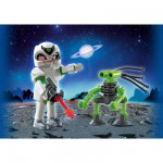Playmobil 5241 : Duo Pack : Agent spatial et robot
