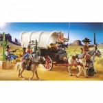 Playmobil 5248 : Chariot avec cow-boys et bandits