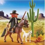 Playmobil 5251 : Shérif à cheval avec chiens
