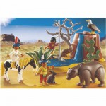 Playmobil 5252 - Enfants indiens avec animaux