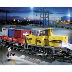 Playmobil 5258 : Train porte-conteneurs radio-commandé