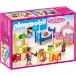 Playmobil 5306 : Dollhouse : Chambre d'enfants avec lits superposés