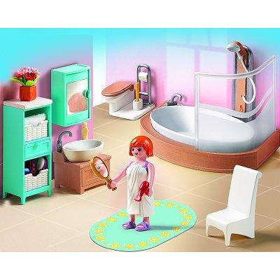 Playmobil 5330 salle de bains avec baignoire et pare douche playmobil magasin de jouets pour - Douche pour chevaux playmobil ...