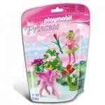 Playmobil 5351 : Fée printemps avec poulain ailé rose