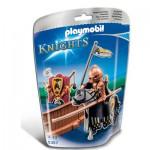 Playmobil 5357 : Piste de joute du chevalier Cheval arden