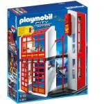 Playmobil 5361 : Caserne de pompiers avec alarme