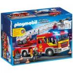 Playmobil 5362 : Camion de pompier avec échelle pivotante