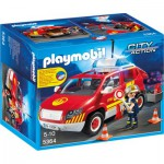 Playmobil 5364 : Véhicule d'intervention avec sirène
