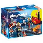 Playmobil 5365 : Pompiers avec lance à incendie