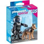 Playmobil 5369 : Spécial Plus : Policier des forces spéciales avec chien