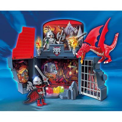 playmobil 5418 coffre chevaliers dragons avenue des jeux. Black Bedroom Furniture Sets. Home Design Ideas