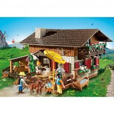 Playmobil 5422 : Auberge de montagne avec randonneurs