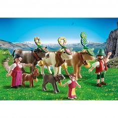 Playmobil 5425 : Famille et vaches des montagnes