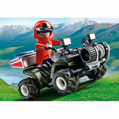 Playmobil 5429 : Quad de secours en montagne