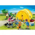 Playmobil 5435 : Famille et tente de camping