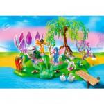 Playmobil 5444 : Ile des fées avec fontaine de pierres précieuses
