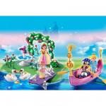 Playmobil 5456 : Compact Set anniversaire : Îlot des princesses et gondole