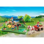 Playmobil 5457 : Compact Set anniversaire : Cavaliers avec poneys et carriole