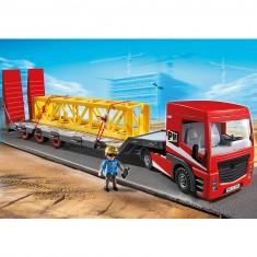 Playmobil 5467 : Tracteur routier avec grande remorque