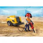 Playmobil 5472 : Ouvrier avec marteau-piqueur