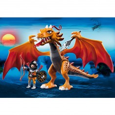 Playmobil 5483 : Dragon d'Or avec soldat