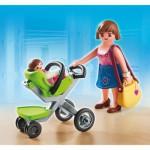 Playmobil 5491 : Maman et bébé avec poussette
