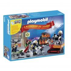 Playmobil 5495 : Calendrier de l'avent : Brigade de pompiers