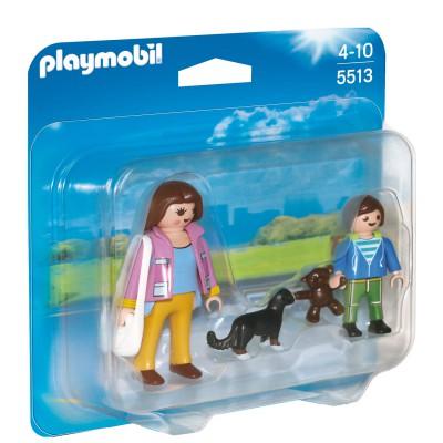 Playmobil 5513 : Duo Maman et enfant - Playmobil-5513