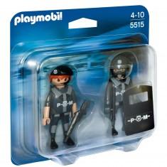 Playmobil 5515 : Duo Policiers et forces spéciales