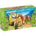 Playmobil-5517 : Cheval Fjord et monitrice