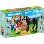 Playmobil 5519 : Cheval frison et écuyère