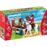 Playmobil 5521 : Cheval Andalou et écuyère