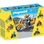Playmobil 5523 : Moto de route dorée