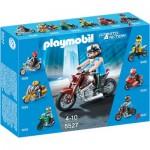 Playmobil 5527 : Moto Custom marron