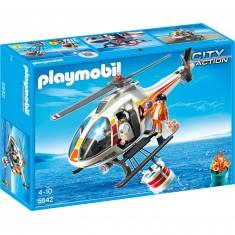 Playmobil 5542 : Hélicoptère bombardier d'eau