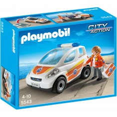 Playmobil 5543 : Urgentiste avec voiture