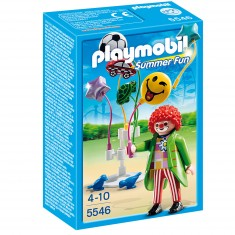 Playmobil 5546 - Summer Fun - Clown avec ballons