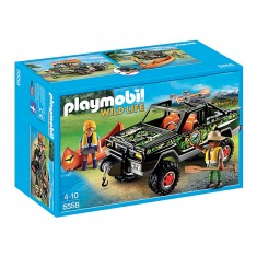 Playmobil 5558 : Wild Life : Pick-up des aventuriers