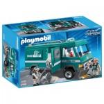 Playmobil 5566 : Convoyeurs de fonds avec véhicule blindé