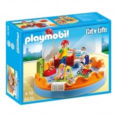 Playmobil 5570 : Espace crèche avec bébés
