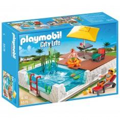 Playmobil 5575 : Piscine avec terrasse