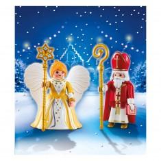 Playmobil 5592 : Saint Nicolas et Ange Doré