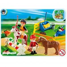 Playmobil 5893 : Valisette cavaliers et poneys