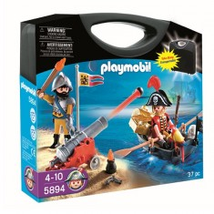 Playmobil 5894 : Valisette pirate et soldat