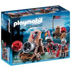Playmobil 6038 : Chevaliers de l'Aigle avec canon géant