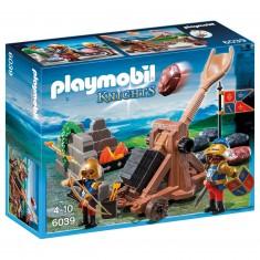 Playmobil 6039 : Chevaliers du Lion Impérial avec catapulte