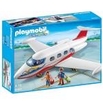 Playmobil 6081 : Avion avec pilote et touristes